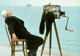 Still from Angelopoulos's film Ulysses' Gaze, copyrighted material
